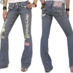 True Religion Woodstock Always Joeys Flare Jeans